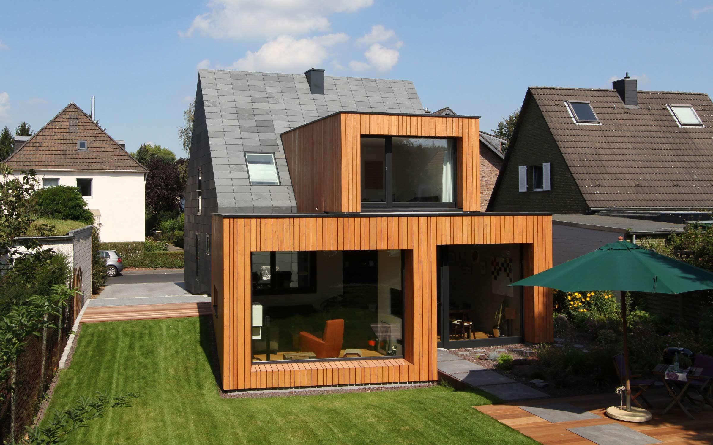 Siedlungshaus Modernisieren vollsanierung & erweiterung: siedlungshaus (efh)